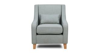 Zapp Accent Chair with Plain Bolster