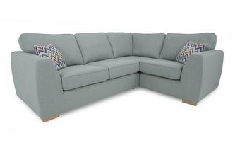 Left Hand Facing 2 Seater Corner Sofa Bed Revive