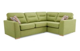 Left Hand Facing 2 Seater Corner Sofa Revive