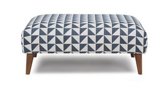 Zinc Pattern Large Footstool