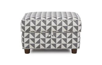 Pattern Storage Footstool