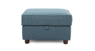 Zinc Express Plain Storage Footstool