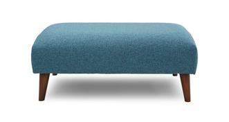 Zinc Express Plain Large Footstool