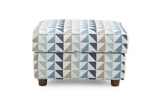 Pattern Storage Footstool Zinc Express Pattern