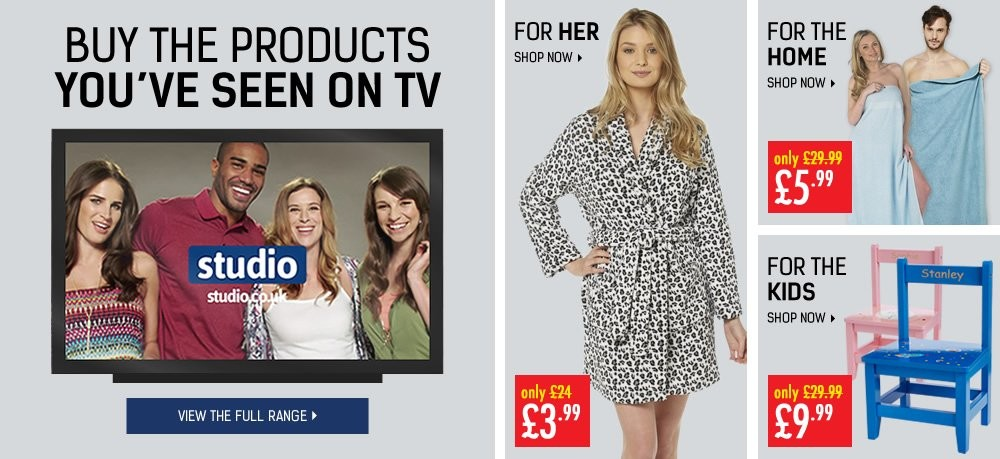 Buy The Products You've Seen On TV