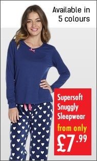 Womens - Supersoft Snuggly Sleepwear
