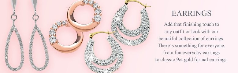 Earrings, add that finishing touch to any outfit or look with our beautiful collection of earrings