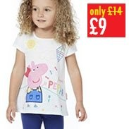 Peppa Pig Top & Legging Set