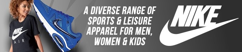 Nike - A Diverse Range of Sports and Leisure Apparel for Men, Women and Kids