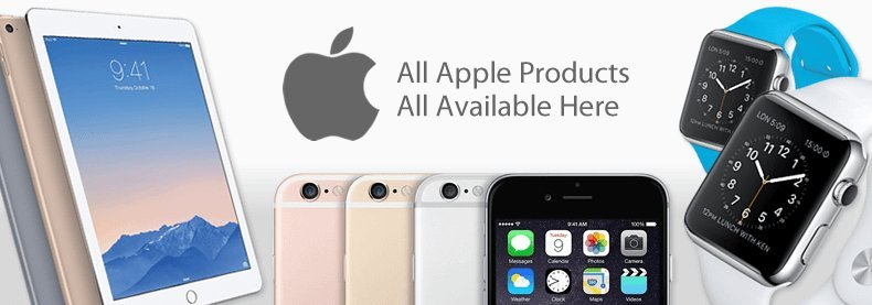 View The Full Apple Range
