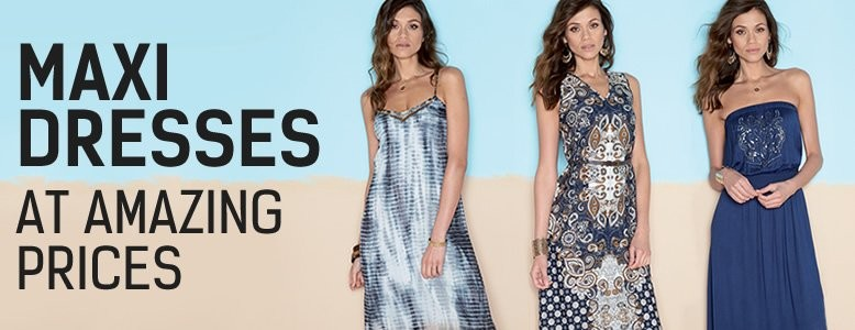 Maxi Dreses at Amazing Prices