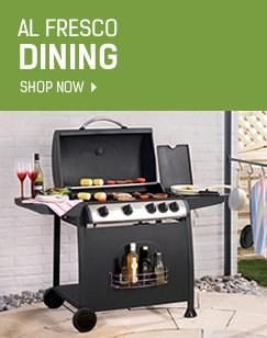 Al Fresco Dining - Shop Barbecues Now