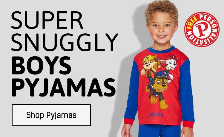 Super Snuggly Boys Pyjamas