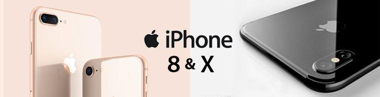 Apple - iPhone 8 & iPhone 8 Plus & iPhone X