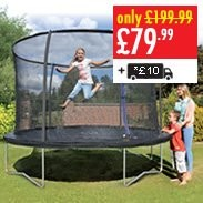 Trampoline & Enclosure