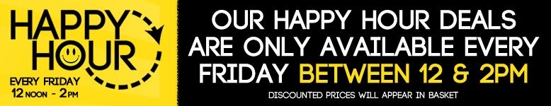 Sorry - Happy Hour Deals Have Now Ended - These Deals Are Only Available Friday 12 Noon - 2pm