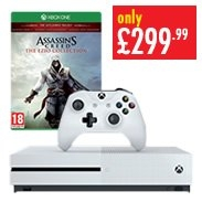 Xb1 500gb & Assassins Creed The Ezio Collection