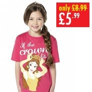 Girls Belle Crown T-Shirt