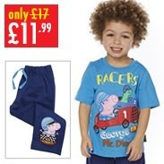 Boy's George Pig T-Shirt & Jogger Set