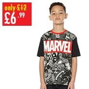 Boy's Marvel Tee