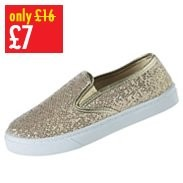 Girls Glitter Pump
