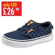 Boys Vans Atwood Check Trainer