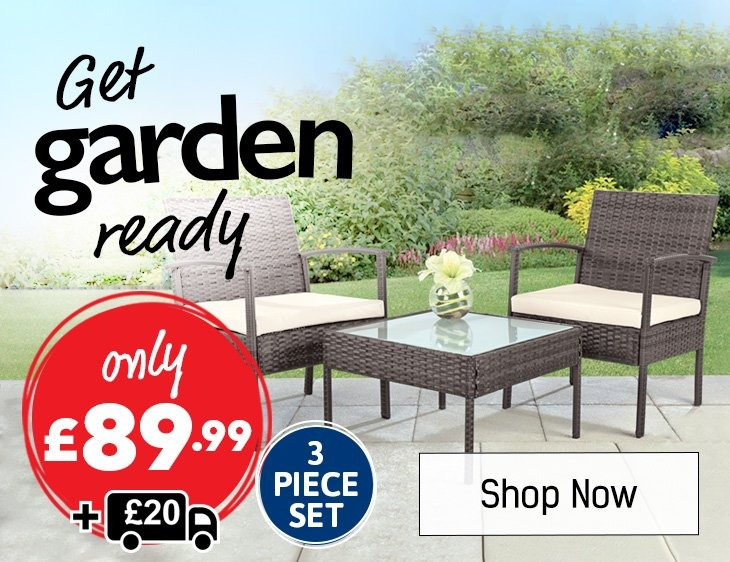 Get Garden Ready - Shop All Garden Furniture Sets