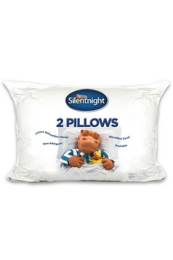 Silentnight Pack Of 2 Luxury Hollow...