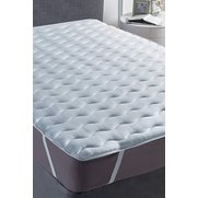 Silentnight Hollowfibre Mattress To...