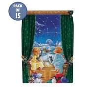 Pack Of 15 Christmas Morning Cards