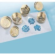 Set Of 6 Acrylic Stamps