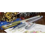 Set Of 2 Gold And Silver Gel Pens