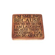 StoneWitWords Coasters - I'm Smilin...