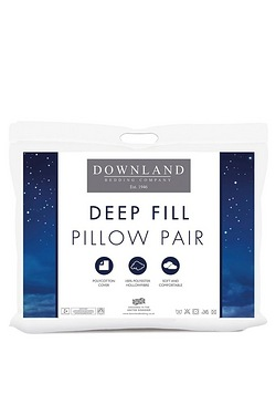 Downland Pair Of Deep Sleep Pillows...