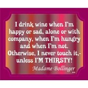 Signs Of Life - Wine Madame Bollinger