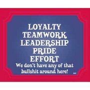 Signs Of Life - Loyalty Teamwork