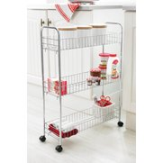 Chrome Gap Filler Trolley
