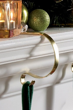 Set Of 4 Mantel Clips