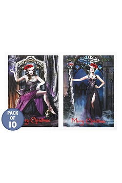 10 Gothic Christmas Cards