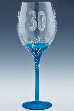30 Clear Wine Glass