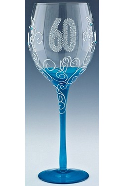 Clear Wine Glasses - Age 60