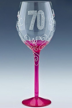 Clear Wine Glasses - Age 70