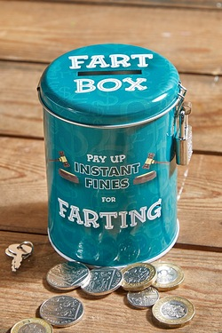 Instant Fines 'Pay Up' Tin - Farting