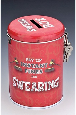 Instant Fines 'Pay Up' Tin - Swearing