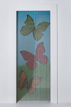 Butterfly Bamboo Door Curtain