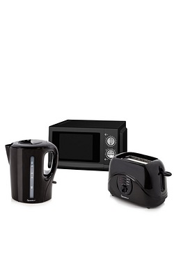 Kettle, Toaster and Microwave Triple Pack