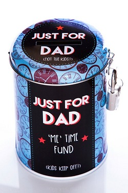Fund Tin - Dad's Toy Fund