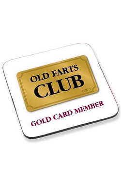 Coaster - Old Farts Club