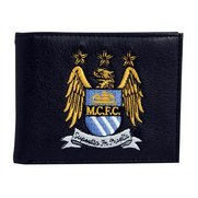 Man City - Embroidered Crest Wallet