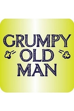 Coaster - Grumpy Old Man
